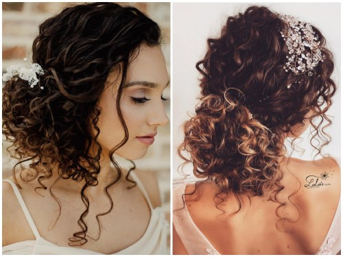 Wedding Updos For Curly Hair