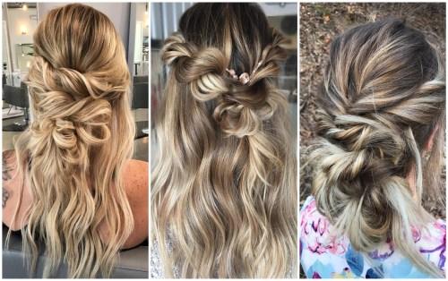 Relaxed Bohemian Hairdos