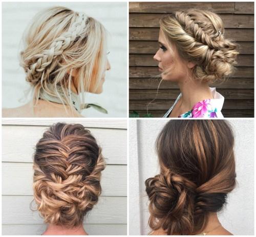 Braided Bridal Updo Hairstyles