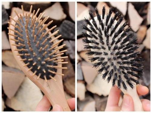 Zero Waste Hair Woden Brushes