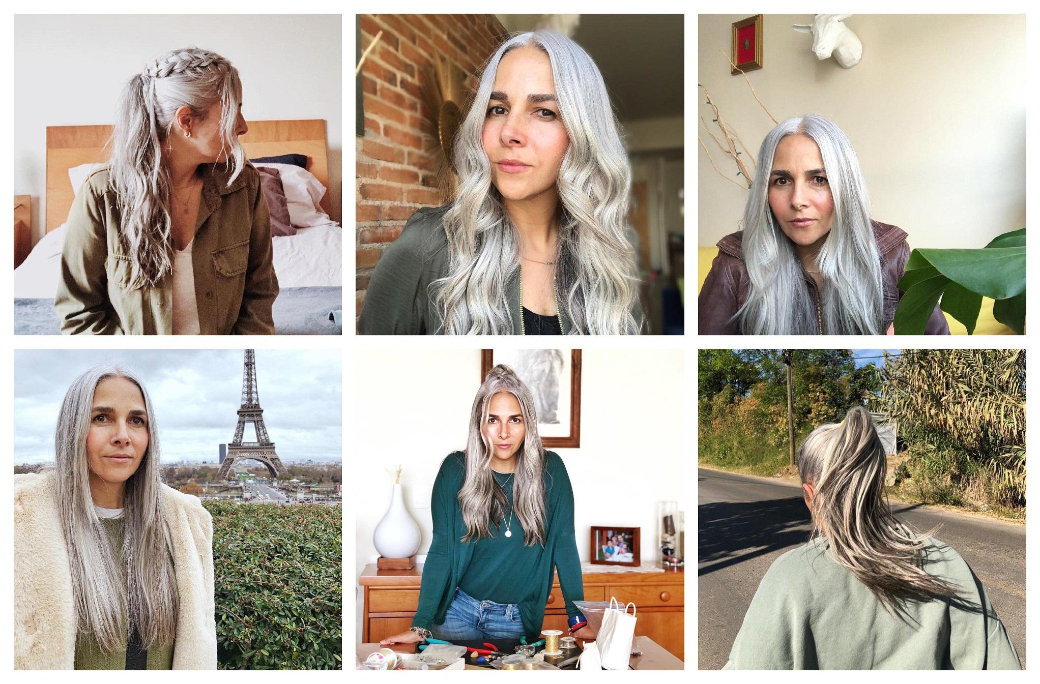Carlas Grey Hair Journey