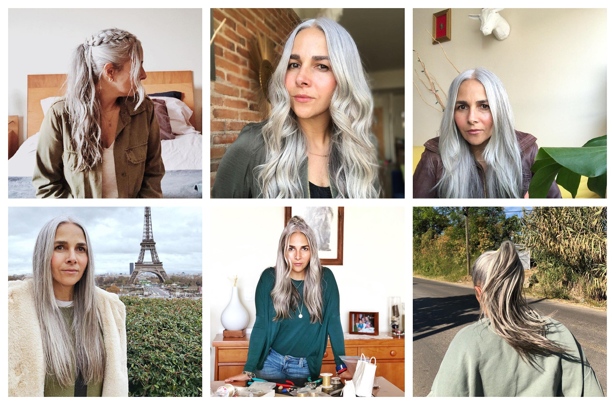 Carlas Grey Hair Journey