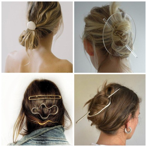 Minimalism Inspired Hair Clips
