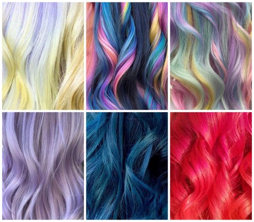 Different Types of Unicorn and Mermaid Hair