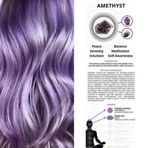 Amethyst Hair