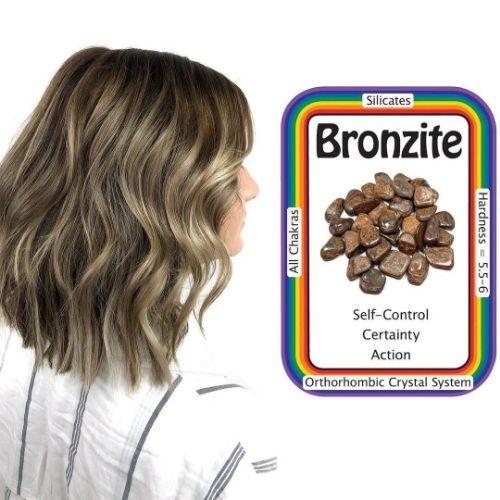 Bronzite Hair