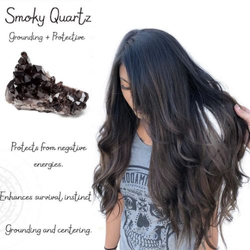 Smoky Quartz Hair