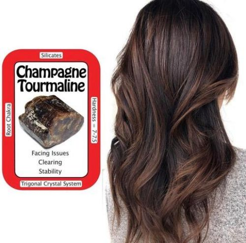 Champagne Tourmaline Hair