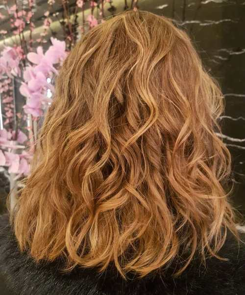 Lob With Semi Permanent Perm
