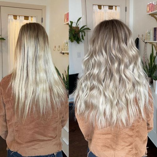Blonde Hair Extensions For Thickening Hair