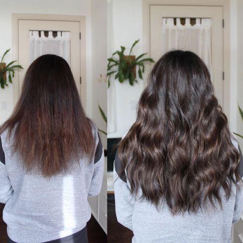 Dark Brown Hair Extensions For Longer Hair
