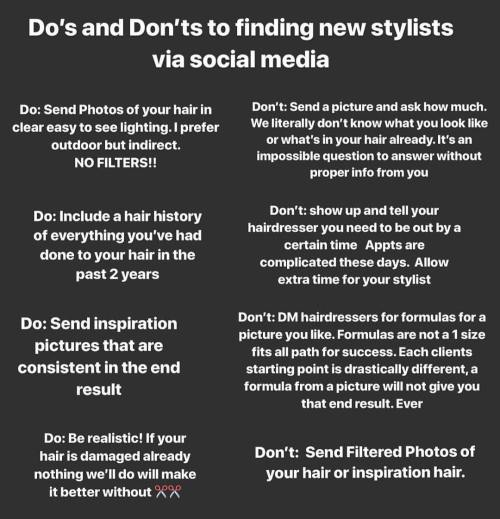 Tips For Finding A Hairstylist