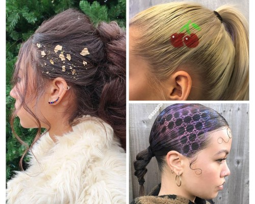 Gold Flakes For Hair