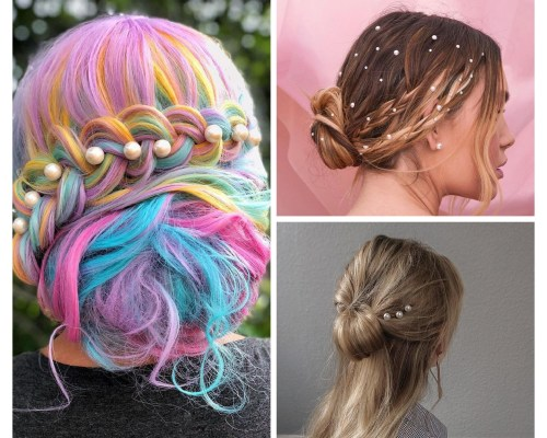 Hairstyles With Pearls