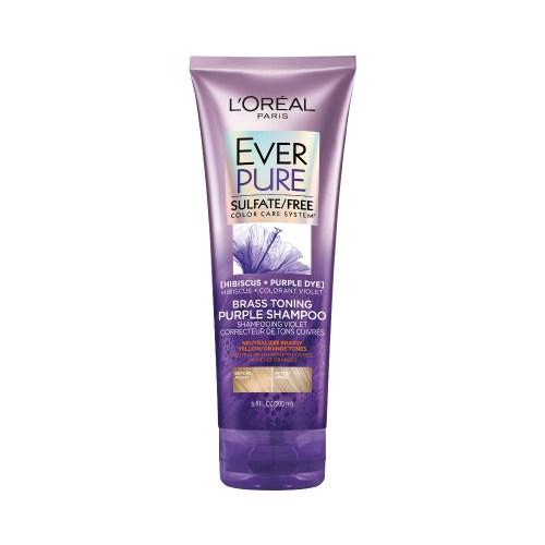 Loreal Ever Pure Brass Toning Shampoo