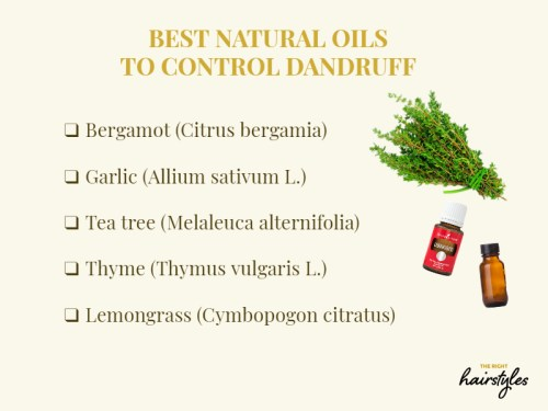 Oils For Dandruff