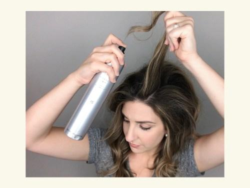 How To Tease Hair: Step 5