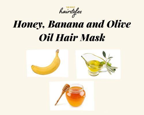 Honey Banana and Olive Oil Mask