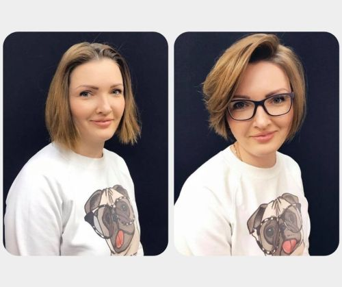 Cutting Long Hair Short Before and After