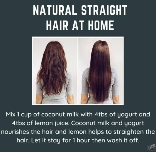 Natural Hair Straightening