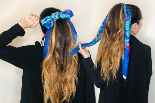 Different Ways to Tie Scarf in Hair