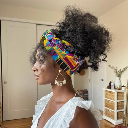 Head Wrap Style for Black Women