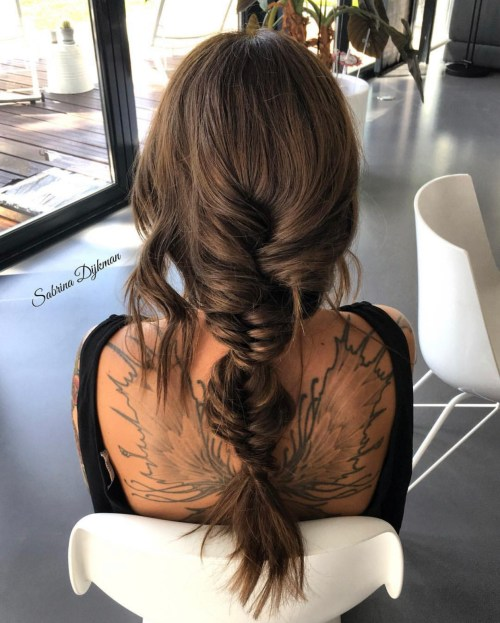 Twisted Fishtail Braids