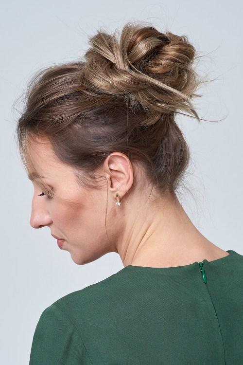 Usando extensões para a espessura do cabelo