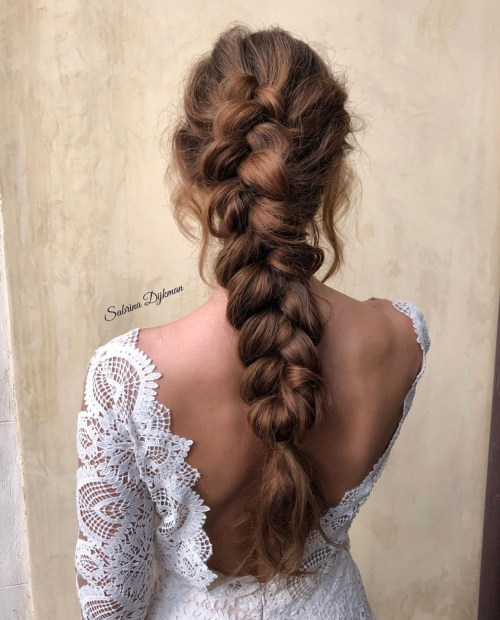 Boho Chick Bridal Hairstyle