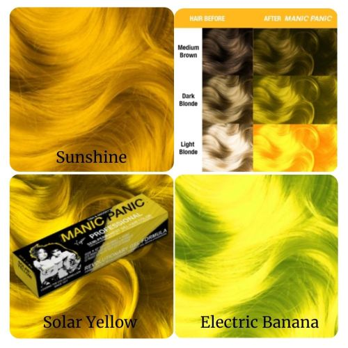 Manic Panic Yellow Hair Colors