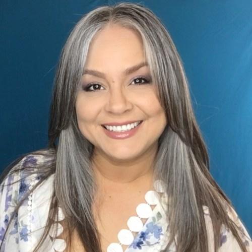 Long Layered Gray Hair