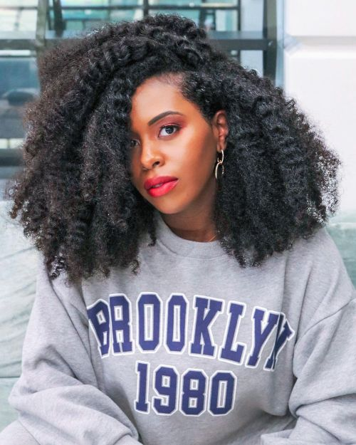 Unraveled Twists on Natural Hair for Maximum Volume