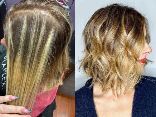 Recoloring Uneven Hair Color