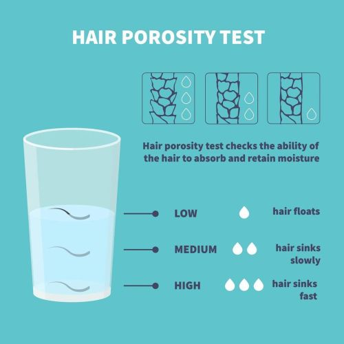 Hair Porosity Test