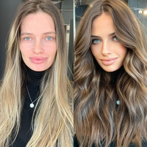Going Darker Before and After