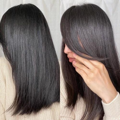 Healthy and Shiny Long Asian Hair