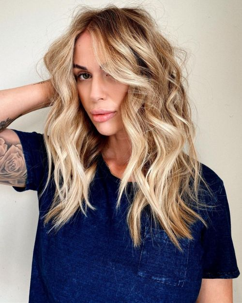 Popular Beach Waves Hairstyle