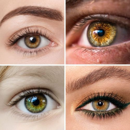 Hazel Color Eyes