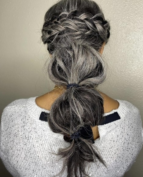 Cute Party Hairstyle for Long Hair