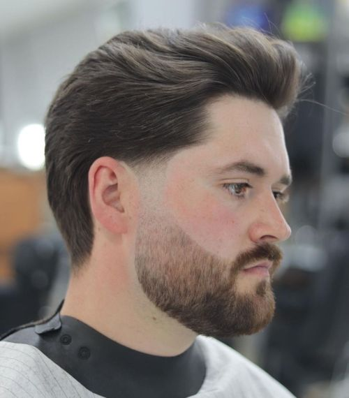 Combover Hairstyle for Thick Hair