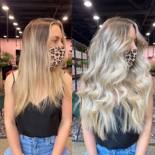 Brassy Blonde vs Cool Blonde Hair Color