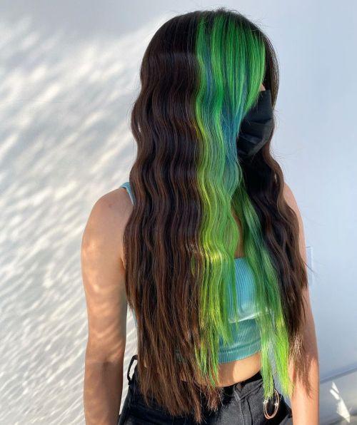 Block Coloring Hair Technique