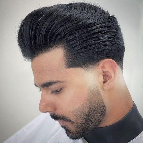 Pompadour Men's Hairstyle