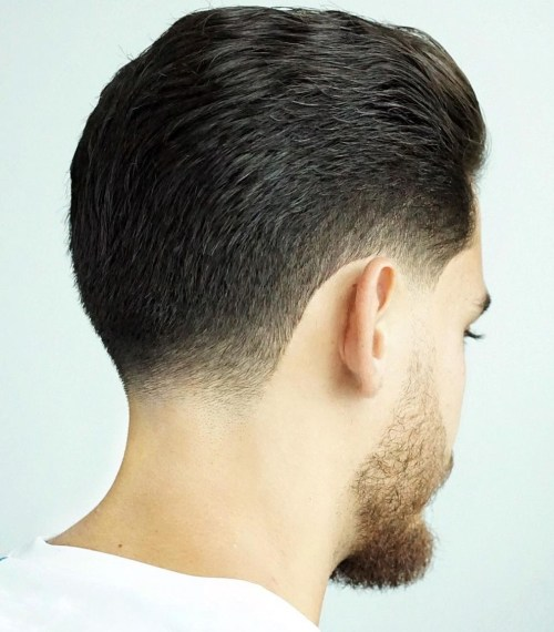 Classic Slick Back Hairstyle for Men