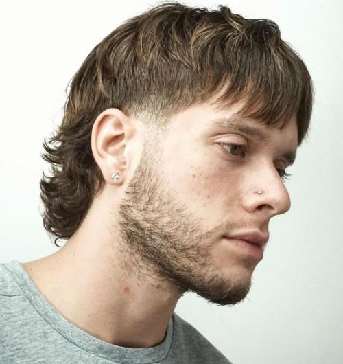 Men's Mullet Cut