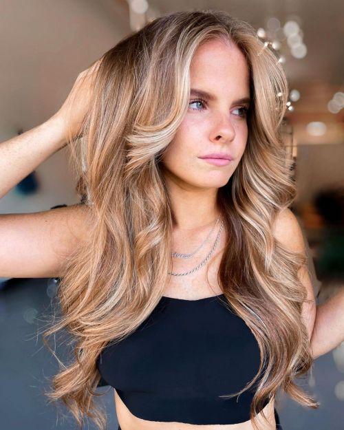 Dimensional Light Brown Hair Color