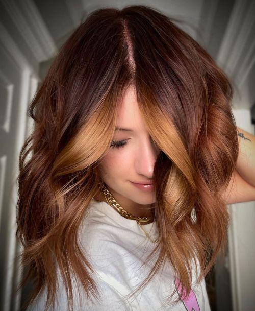 Red Brown Hair Shade