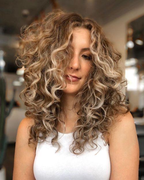 Warm to Cool Dark Blonde Hairstyle