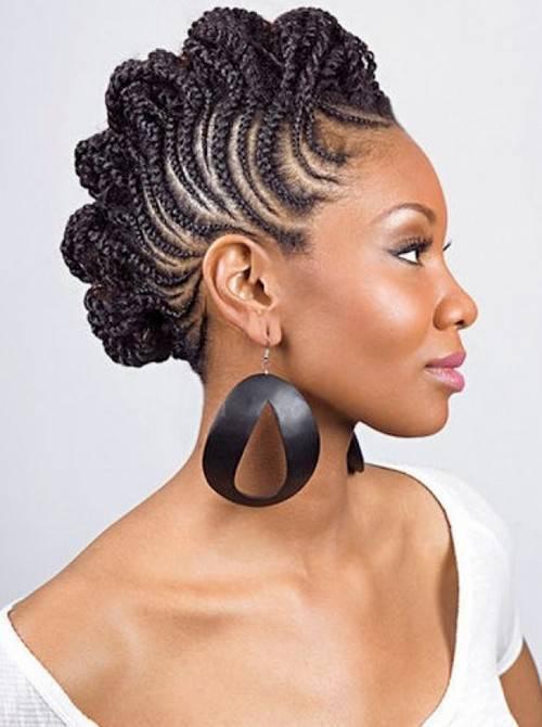 Peachy 70 Best Black Braided Hairstyles That Turn Heads In 2017 Short Hairstyles Gunalazisus