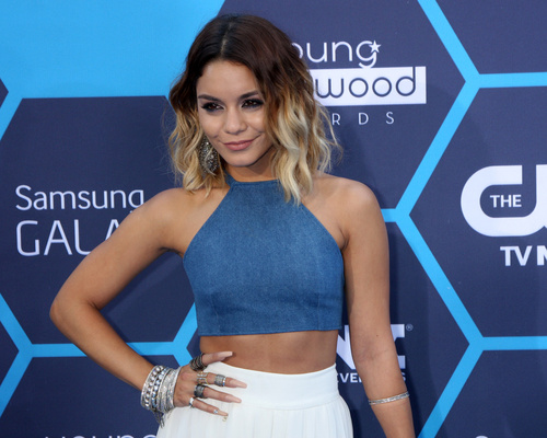 Vanessa Hudgens bob with ombre
